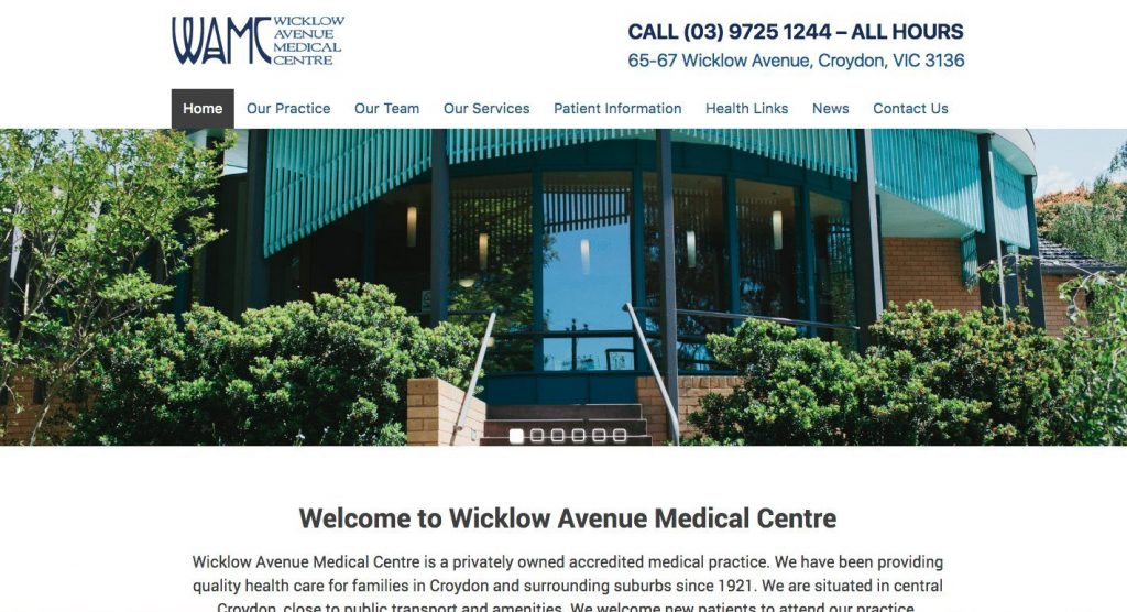 Wicklow Avenue Medical Centre